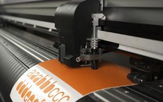 Latexdruck für Folien